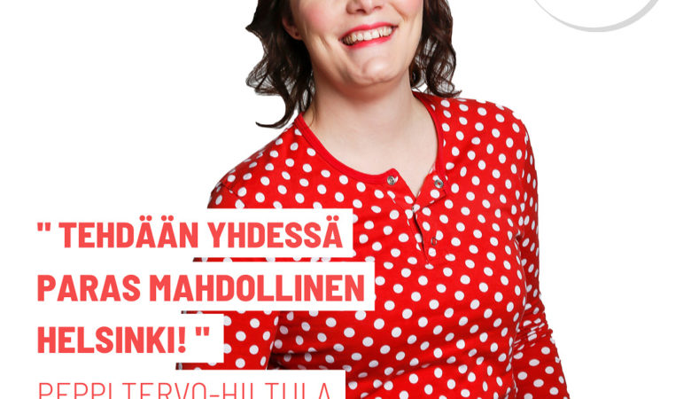 Helsinki 225 ehdokas Peppi Tervo-Hiltula
